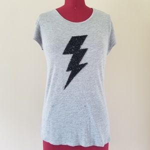 Romeo + Juliet Couture Lightning Bolt Tee